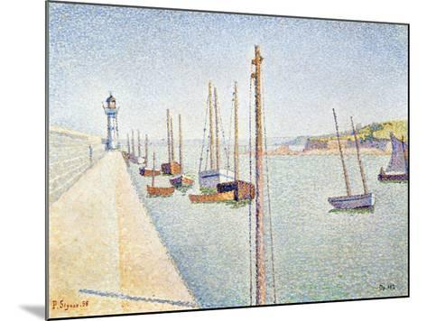 Portrieux, Brittany, 1888-Paul Signac-Mounted Giclee Print