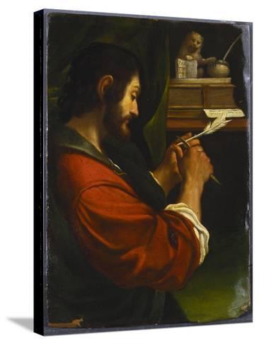 Saint Mark-Guercino (Giovanni Francesco Barbieri)-Stretched Canvas Print