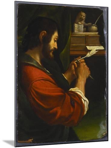 Saint Mark-Guercino (Giovanni Francesco Barbieri)-Mounted Giclee Print