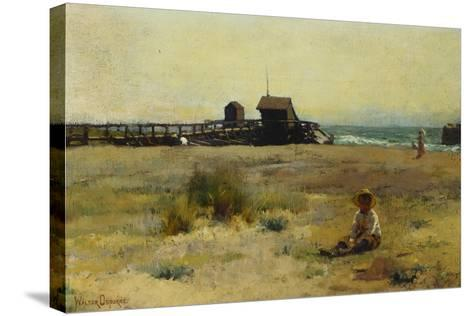 Boy on a Beach, 1884-Walter Frederick Osborne-Stretched Canvas Print