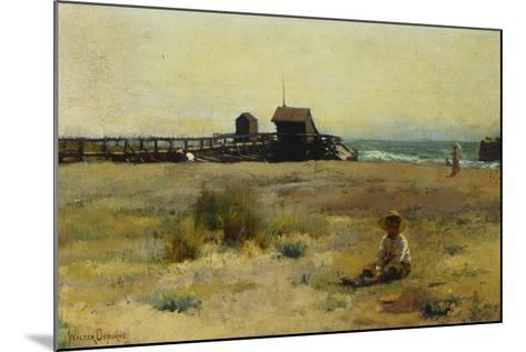 Boy on a Beach, 1884-Walter Frederick Osborne-Mounted Giclee Print