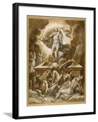 The Resurrection of Christ-Marco dell'Angolo del Moro-Framed Art Print