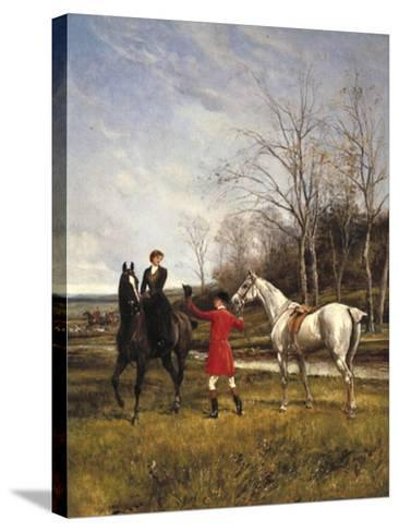 Chivalry-Heywood Hardy-Stretched Canvas Print