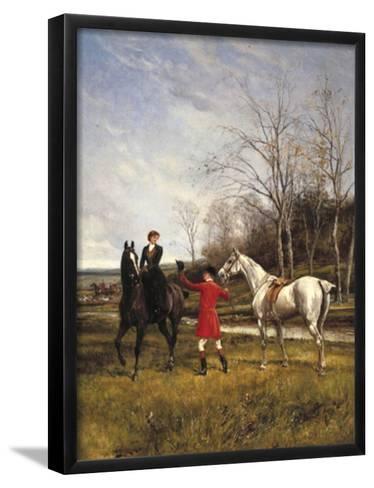 Chivalry-Heywood Hardy-Framed Art Print