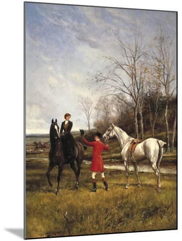 Chivalry-Heywood Hardy-Mounted Giclee Print