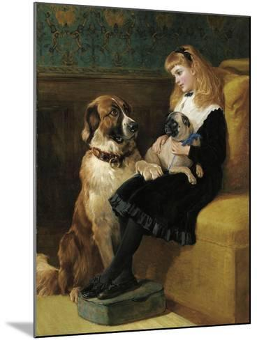 Her Only Playmates, 1870-Heywood Hardy-Mounted Giclee Print