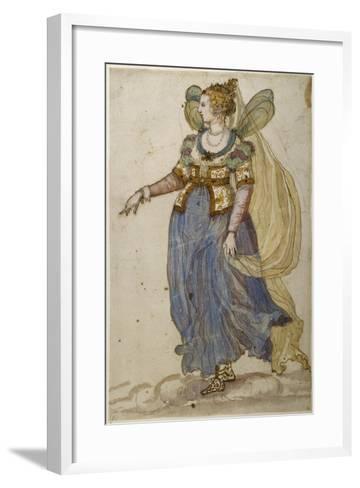 Lady Masquer-Inigo Jones-Framed Art Print