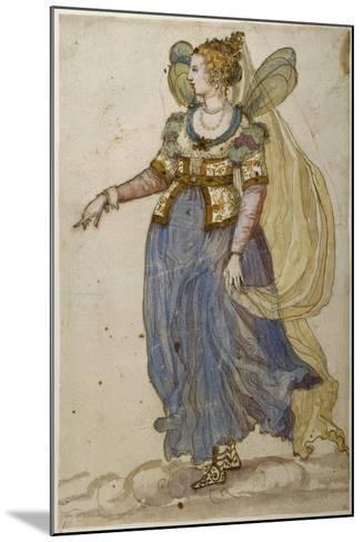 Lady Masquer-Inigo Jones-Mounted Giclee Print