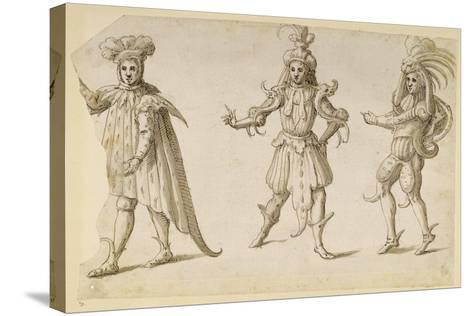 Three Fays, C.1611-Inigo Jones-Stretched Canvas Print