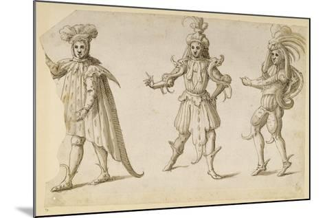 Three Fays, C.1611-Inigo Jones-Mounted Giclee Print