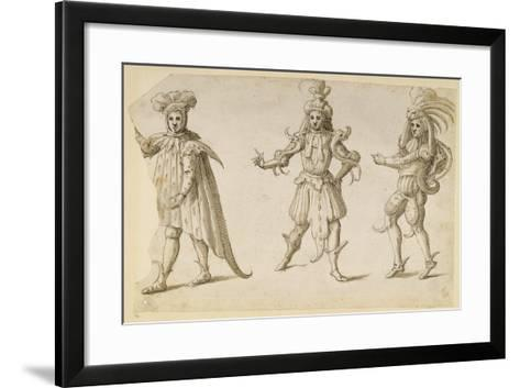 Three Fays, C.1611-Inigo Jones-Framed Art Print
