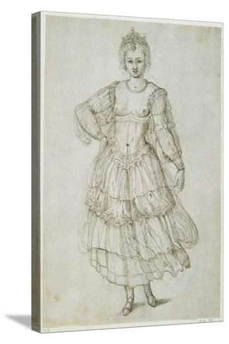 A Daughter of the Morn, C.1611-Inigo Jones-Stretched Canvas Print