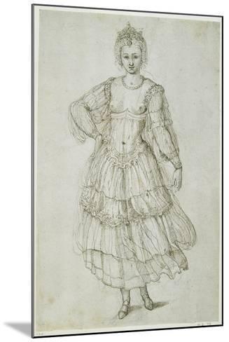 A Daughter of the Morn, C.1611-Inigo Jones-Mounted Giclee Print