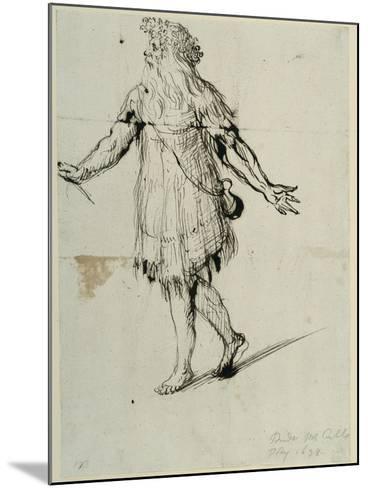 A Druid, C.1638-Inigo Jones-Mounted Giclee Print