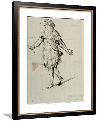 A Druid, C.1638-Inigo Jones-Framed Art Print