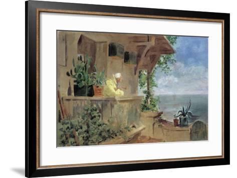 The Lookout-Carl Spitzweg-Framed Art Print