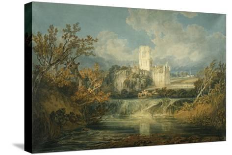 Kirkstall Abbey, Yorkshire, 1797-J^ M^ W^ Turner-Stretched Canvas Print