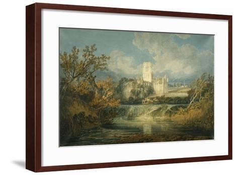 Kirkstall Abbey, Yorkshire, 1797-J^ M^ W^ Turner-Framed Art Print