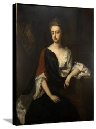 Portrait of Rachel Russell, Duchess of Devonshire, C.1694-1700-Michael Dahl-Stretched Canvas Print