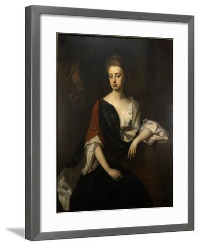 Portrait of Rachel Russell, Duchess of Devonshire, C.1694-1700-Michael Dahl-Framed Art Print