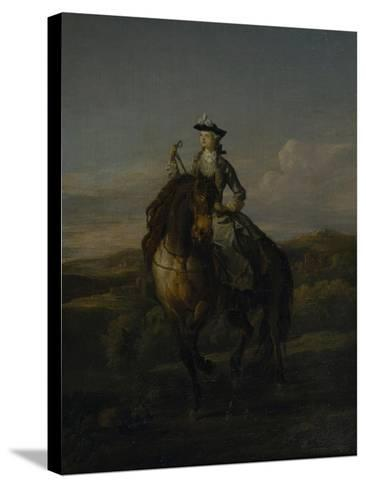 Equestrian Portrait of Charlotte Boyle, Marchioness of Hartington, 1747-William Kent-Stretched Canvas Print
