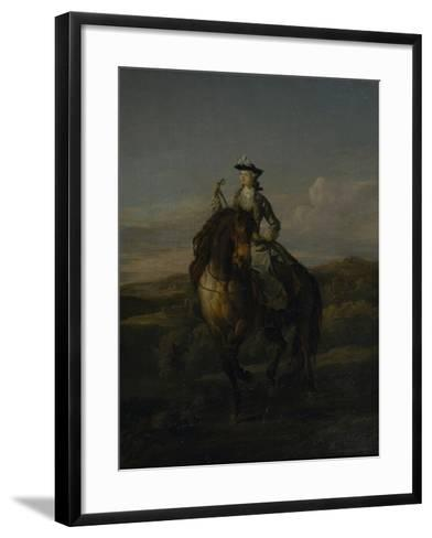 Equestrian Portrait of Charlotte Boyle, Marchioness of Hartington, 1747-William Kent-Framed Art Print