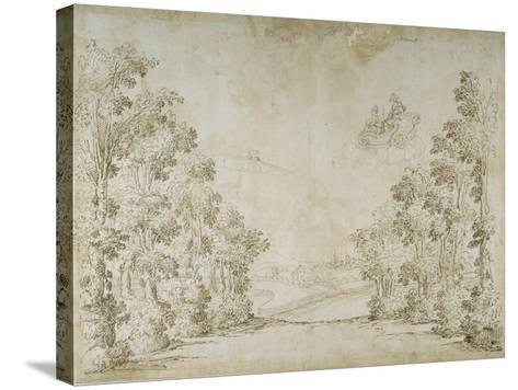 A Peaceful Country-Inigo Jones-Stretched Canvas Print