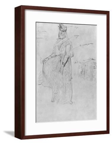 Moorish Woman-Theodore Chasseriau-Framed Art Print