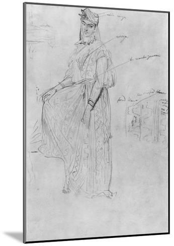Moorish Woman-Theodore Chasseriau-Mounted Giclee Print