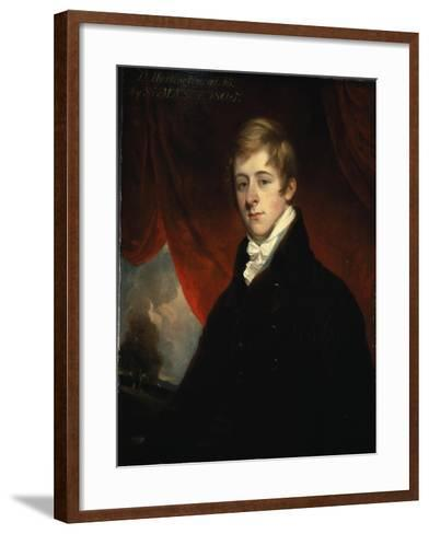 Portrait of William Cavendish When Marquess of Hartington, 1805-Sir Martin Archer Shee-Framed Art Print