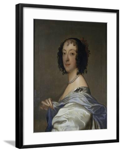 Portrait of Elzabeth, Baroness Clifford, after C.1639-Sir Anthony Van Dyck-Framed Art Print