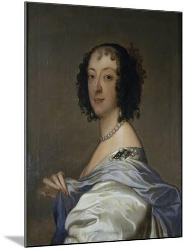 Portrait of Elzabeth, Baroness Clifford, after C.1639-Sir Anthony Van Dyck-Mounted Giclee Print