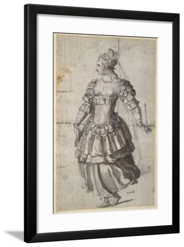 Unidentified Queen-Inigo Jones-Framed Art Print