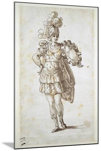 Knight or Squire Bearing a Shield-Inigo Jones-Mounted Giclee Print