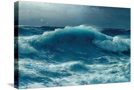 Atlantic Roll, 1895-David James-Stretched Canvas Print