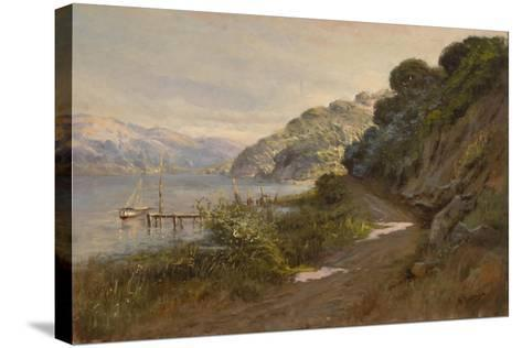 Bolinas Bay and the Summit-Manuel Valencia-Stretched Canvas Print