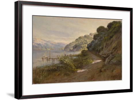 Bolinas Bay and the Summit-Manuel Valencia-Framed Art Print