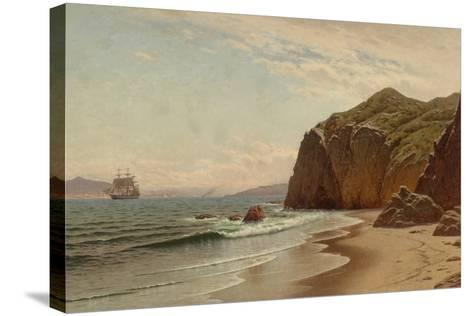 View of San Francisco Bay from Land's End, 1883-Raymond Dabb Yelland-Stretched Canvas Print
