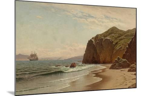 View of San Francisco Bay from Land's End, 1883-Raymond Dabb Yelland-Mounted Giclee Print