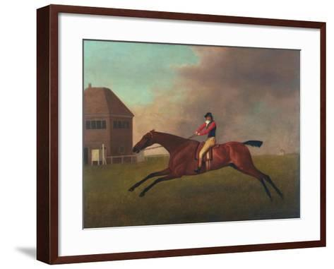 Baronet with Sam Chifney Up, 1791-George Stubbs-Framed Art Print