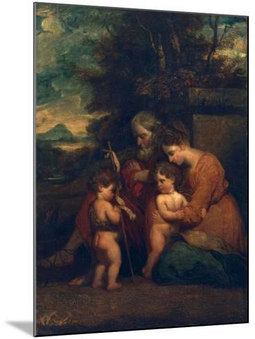 Holy Family-Sir Joshua Reynolds-Mounted Giclee Print