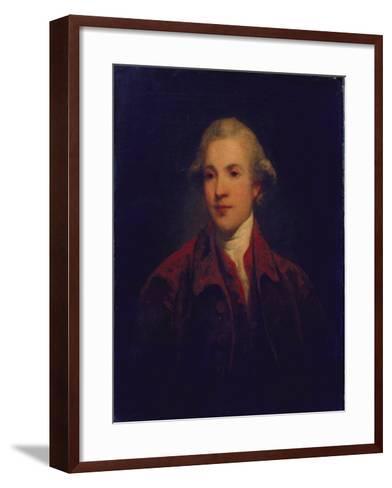 Unknown Man, Called Richard Brinsley Sheridan-Sir Joshua Reynolds-Framed Art Print