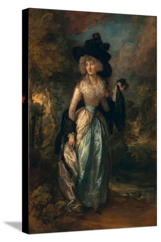 Juliana (Howard), Baroness Petre, 1788-Thomas Gainsborough-Stretched Canvas Print