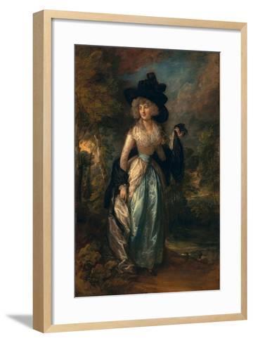 Juliana (Howard), Baroness Petre, 1788-Thomas Gainsborough-Framed Art Print