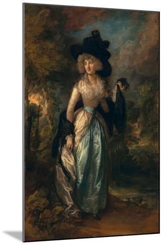 Juliana (Howard), Baroness Petre, 1788-Thomas Gainsborough-Mounted Giclee Print