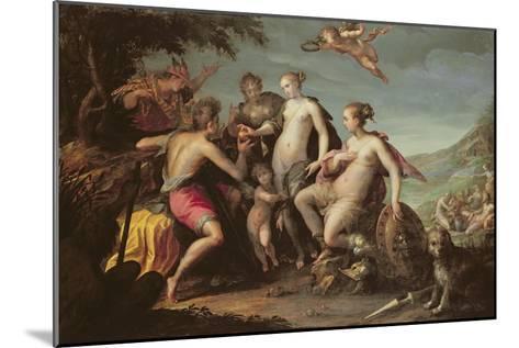 The Judgement of Paris-Johann or Hans von Aachen-Mounted Giclee Print