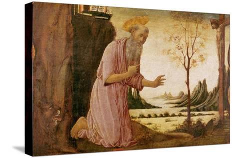 St. Jerome-Jacopo Del Sellaio-Stretched Canvas Print