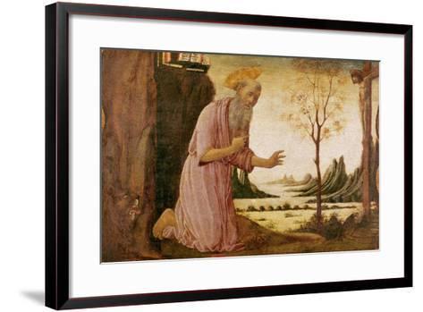 St. Jerome-Jacopo Del Sellaio-Framed Art Print