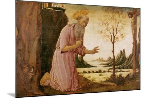 St. Jerome-Jacopo Del Sellaio-Mounted Giclee Print