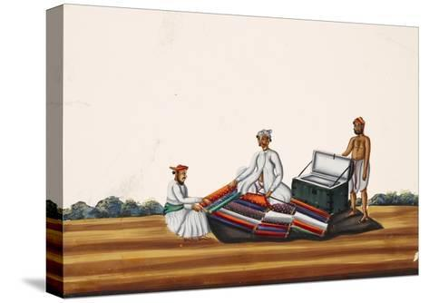 A Madras Hawker, from Thanjavur, India--Stretched Canvas Print